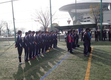 特別支援学校サッカー大会に参加